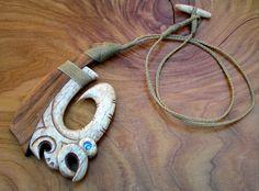 Amazing Hei Matau / fishhook museum standard custom order (example piece only)