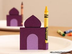 Make Ramadan special at the kids' table with this fun place setting idea. Use our printable template for the mosque shape – and for the minaret? A crayon! Lay out kraft paper as a tablecloth and let kids colour with the crayons till sunset. Place extra crayons at the table to ensure that there are …