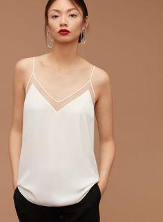 Tops For Women customize your own shirt wonder woman shirt – jiangongye Mode Outfits, Fashion Outfits, Womens Fashion, Camisole Outfit, Camisole Top, Mode Monochrome, Lingerie Look, Feminine Mode, Wonder Woman Shirt