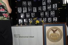 Class Reunion Table Decorations - Memorial Wall