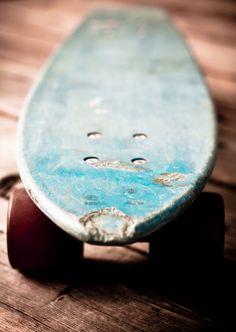 love! vintage skateboard