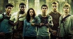 The Maze Runner Cast: Minho, Frypan, Teresa, Thomas, Gally, Newt #themazerunner #themazerunnermovie