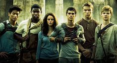 The Maze Runner Cast: Minho, Frypan, Teresa, Thomas, Gally, Newt #themazerunner #themazerunnermovie