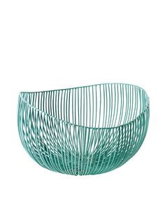 The Serax Cesira fruit basket is both functional in both design and appearance, ideal as a decorative piece or fruit basket. designed by Antonino Sciortino. Basket Lighting, Bleu Turquoise, Decoration, Decorative Bowls, Light Blue, Plates, Fruit, Deep, Saint