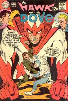 hawk and dove comic book covers - Google Search