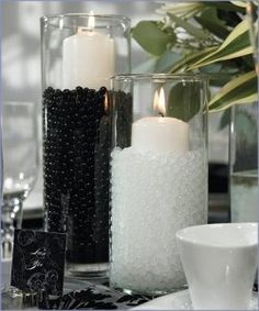 [ Black White Wedding Centerpieces Wedding Stuff Ideas ] - black and white wedding table decorations reference for black and white cool black and white wedding centerpieces happywedd com black and white wedding centerpieces wedding stuff ideas,i Black White Parties, Black And White Theme, Black And White Bathroom Ideas, Black Tie Party, Black Bed Room Ideas, Black White And Grey Bedroom, Black Gold Party, Dark Grey, Wedding Centerpieces