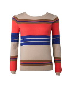 Trenery multi stripe knit