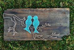 Pájaros sobre una rama del amor / la cadena arte por ArtOfNoelle
