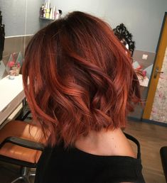 Lovely Copper Balayage - 60 Auburn Hair Colors to Emphasize Your Individuality - The Trending Hairstyle Magenta Hair, Red Ombre Hair, Hair Color Auburn, Red Hair Color, Short Auburn Hair, Medium Auburn Hair, Brown Auburn Hair, Short Red Hair, Red Balayage Hair