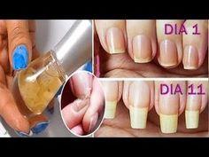 Empapa tus uñas en esta mezcla casera y prepararte para verlas crecerán sin parar en 7 días - YouTube