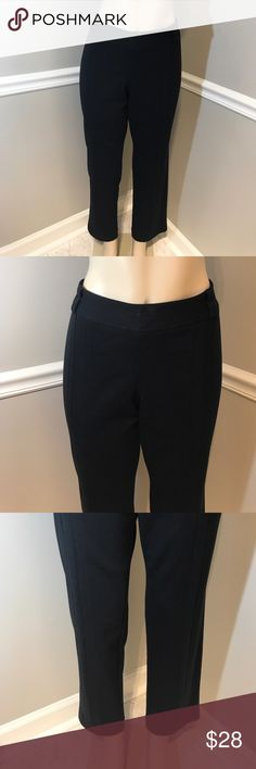 "NYGARD Collection Side Zip Black Pants Size LP Wardrobe essential Black Pants which have only been worn once. Inseam 28"". Waist 18.5"". Width at bottom hem 7.5"". Side zip. Smoke free home. (AC) Nygard Collection Pants Trousers"