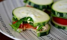 These look like delicious little bites.  Cucumber, feta, tomato, and I'd use basil instead of cilantro or parsley