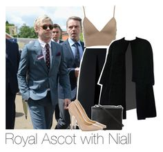 """""""Royal Ascot with Niall"""" by bx-sxnnt ❤ liked on Polyvore featuring McQ by Alexander McQueen, Christian Dior, BCBGMAXAZRIA and Jimmy Choo"""