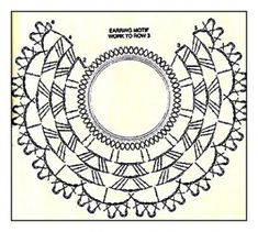 Upcycle a Pair of Old Hoop Earrings into Beautiful Crochet Earrings with this DIY Free Pattern - Crafting Happiness - Salvabrani - Salvabrani Crochet Diagram, Crochet Chart, Crochet Motif, Crochet Doilies, Crochet Flowers, Crochet Stitches, Crochet Jewelry Patterns, Crochet Earrings Pattern, Crochet Hair Accessories