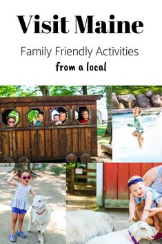 Travel Maine – Fun Activities For Families In Maine Travel Maine, Travel Usa, Travel With Kids, Family Travel, Travel Advice, Travel Ideas, Travel Tips, Visit Maine, Fun Activities To Do