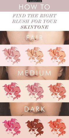 Best Blushes for Your Skin Tone   Best Makeup Tutorials