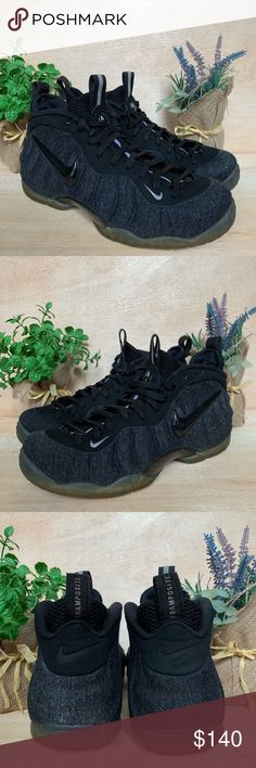 37b9f55da383a Nike Air Foamposite Pro Wool Fleece Sneakers Size 9.5 Gently Used - Great  Condition - No