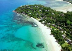 Prepare for a private villa vacation on the Seychelles Islands at Maia Luxury Resort & Spa. Enjoy one bedroom villas with uninterrupted ocean views! Luxury Beach Resorts, Vacation Villas, Hotels And Resorts, Vacation Spots, Resort Villa, Resort Spa, Seychelles Islands, 5 Star Resorts, Island Resort