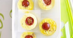 Light, fluffy and packed full of creamy melted cheese and fresh ham, these mini frittatas are easy to make and perfect for a quick breakfast or on-the-go lunch. Ham And Cheese, Cheddar Cheese, Kitchenware Shop, Fresh Ham, Mini Frittata, Sliced Ham, Mini Muffin Pan, Lunch To Go, Mini Muffins