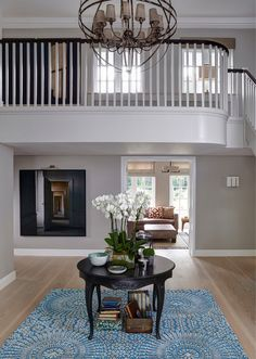 windows upstairs, light and doorway