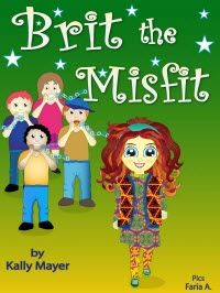 NEW RELEASE!! (On sale for a limited time!) Brit the Misfit   A Children's Rhyming Picture Book About Kindness and Bullying  ~~~  FREE bonus!! Self-esteem activities included ~~~  DOES YOUR CHILD LOVE TO READ BEAUTIFUL PICTURE BOOKS? Suitable for (Ages 3-8 and up)