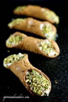 Sicilian cannoli filling. I've been looking for good cannoli recipes!