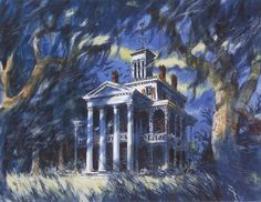 Haunted Mansion Concept Art