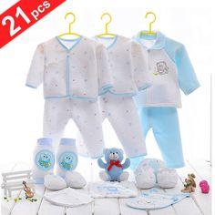 100% Cotton 21 Pcs Newborn Gift Set
