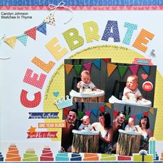 Celebrate - Scrapbook.com