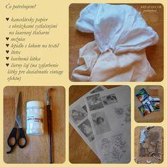 Technika zošúchavacia alebo ako dostať obrázok na textil / prochazkov » SAShE.sk - slovenský handmade dizajn