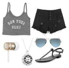 """Untitled #24"" by hailey70707 ❤ liked on Polyvore featuring Billabong, Beats by Dr. Dre, Ray-Ban and Balenciaga"