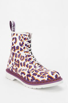 Dr. Martens Leopard Print 1460 Boot  #UrbanOutfitters, $130