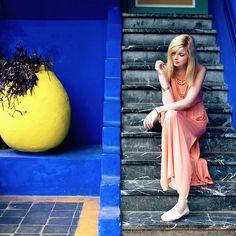 Jana Wind - Zara Dress - Jardin Majorelle