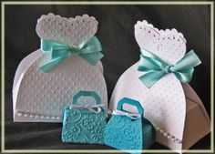 cricut wedding cartridge | Then I made a little lingerie gift box for the tiny blue undies I gave ...