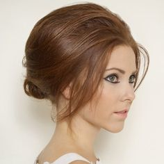 Follow our step-by-step wedding-hair how-to with Headmasters, who show you how to achieve a soft beehive...