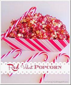 Lou  Lou  Girls : Red Velvet Popcorn