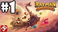 rayman advwentures - YouTube