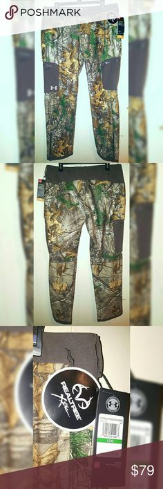 8c374859bb551 Under Armour Realtree Hunting Pants Women Sz Large Under Armour Women Size:  Large. Super