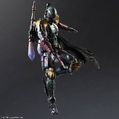 """Square Enix Continues Variant Play Arts Kai - """"Star Wars"""" Figures Series With Stormtrooper and Boba Fett Batman Figures, Star Wars Action Figures, Final Fantasy, Fantasy Art, Darth Vader Suit, Stormtroopers, Jouet Star Wars, Boba Fett Action Figure, Figurine Star Wars"""