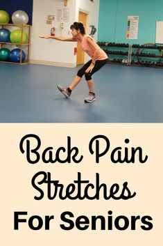Alleviate back pain, release tension and decrease inflammation in under 10 minutes with these gentle back stretches Balance Exercises, Back Exercises, Stretching Exercises, Stretching For Seniors, Exercises For Seniors, Back Stretches For Pain, Yoga Handstand, Bad Posture, Release Stress