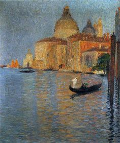View of Salute in Venice  ~ Henri Martin (French, 1860-1943)