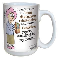 TreeFree Greetings lm43827 Hilarious Aunty Acid Long Distance Relationships by The Backland Studio Ceramic Mug 15Ounce ** For more information, visit image link-affiliate link.