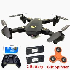 Brilliant Visuo Xs809hw Rc Mini Foldable Selfie Drone With Wifi Fpv Foldable Selfie Drone 2mp 3 Battery Altitude Hold Rc Dron @35 To Win A High Admiration Remote Control Toys Toys & Hobbies