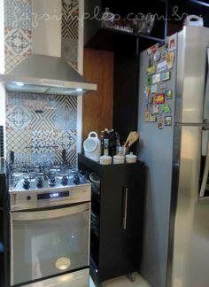 aprenda o passo a passo de um armário de cozinha com rodinhas multiuso para completar a sua decoração da cozinha.