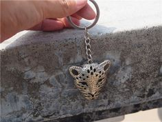 Silver Leopard Key chain ,silver jewelry Ornaments gift Small gifts key ring , valentines gift,best friends gift ,friendship gift ,Cool gift Silver Jewelry, Unique Jewelry, Friendship Gifts, Small Gifts, Key Rings, Key Chain, Cool Gifts, Hand Stamped, Valentine Gifts