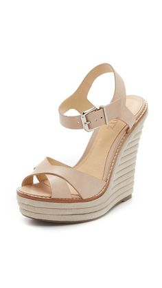 Schutz Francine Wedge Sandals
