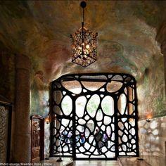 Casa Mila. Iron gate