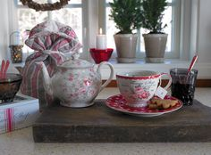 New GreenGate collection Autumn/Winter 2013: Winter Feelings Stoneware Sophia Vintage