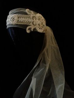 Eleanor 1920's Beaded Bandeau Headband Great Gatsby by empireroom, $190.00
