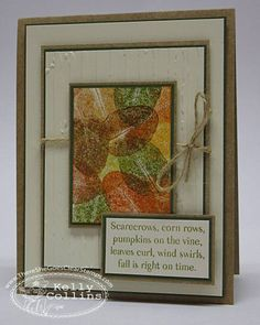 Leaves by stinkincute - Cards and Paper Crafts at Splitcoaststampers